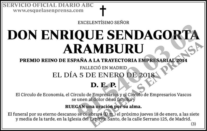 Enrique Sendagorta Aramburu